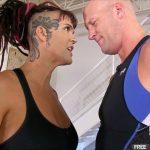 Femdomempire.com – She-Hulk Beatdown Saharra Huxley 2014 Mixed Wrestling