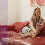 Silksoles.com – The Anti-Foot Tease League Ariel Anderssen 2014 Pencil Skirt
