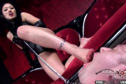 Femdomempire.com - Goddess Miki's Foot Training Miki 2012 Foot Worship
